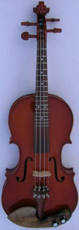 Oppela Acoustic Electric Fretted Violin