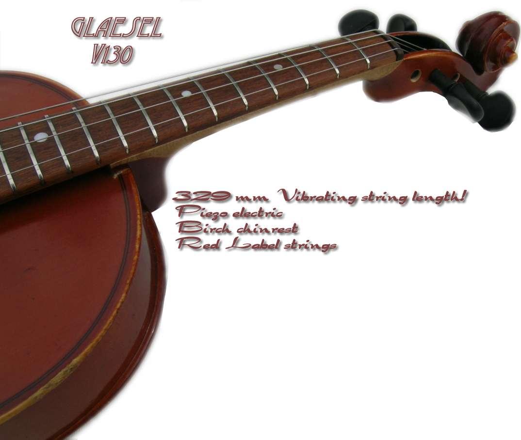Glaesel V130   F...V Is For Violin